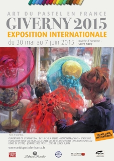 Affiche Art du pastel en France 2015