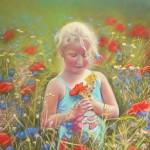 Cueillette de fleurs_Evelyne Bérart