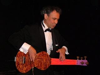 Roberto Robao sur scène