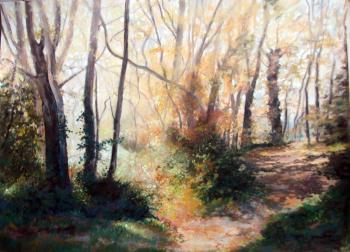 Les violons de l'automne - 80x60 cm