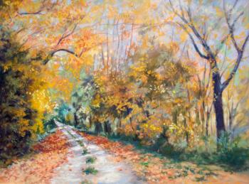 Lumière d'automne - 30x40 cm