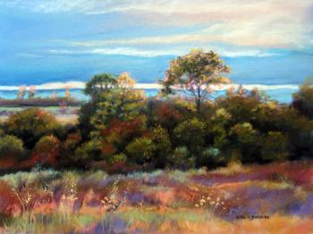 Soir d'automne - 30x40 cm