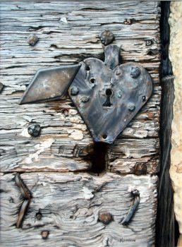 Coeur brisé - 42x52