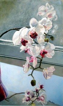 L'orchidée - 52x42